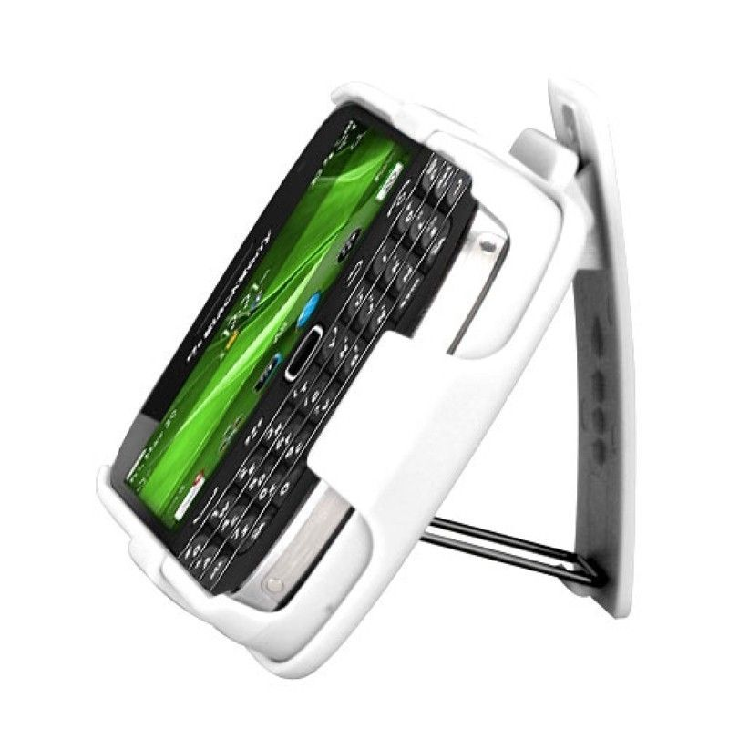 Rubberized-Hard-Case-Stand-Holster-Belt-Clip-For-Blackberry-Bold-9900-Bold-9930 miniature 17