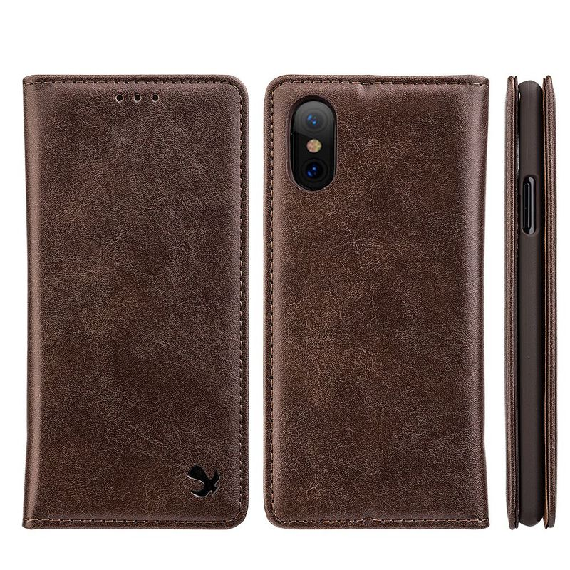 For-Apple-iPhone-Samsung-Leather-Flip-Wallet-Card-Slot-Case-Phone-Stand-Cover thumbnail 8