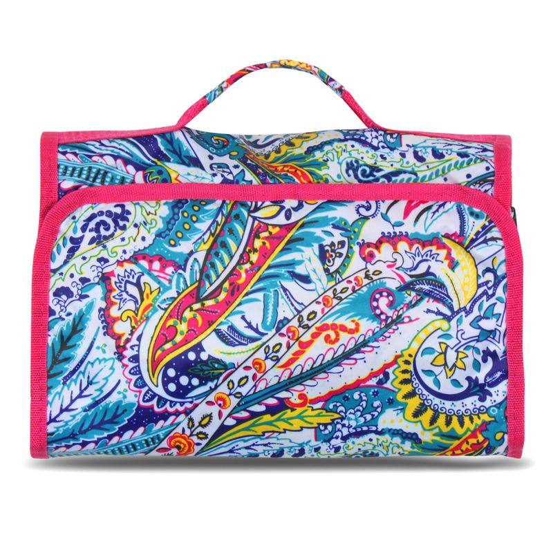Women-Multifunction-Travel-Hanging-Cosmetic-Bag-Makeup-Case-Organizer-Pouch miniatuur 40