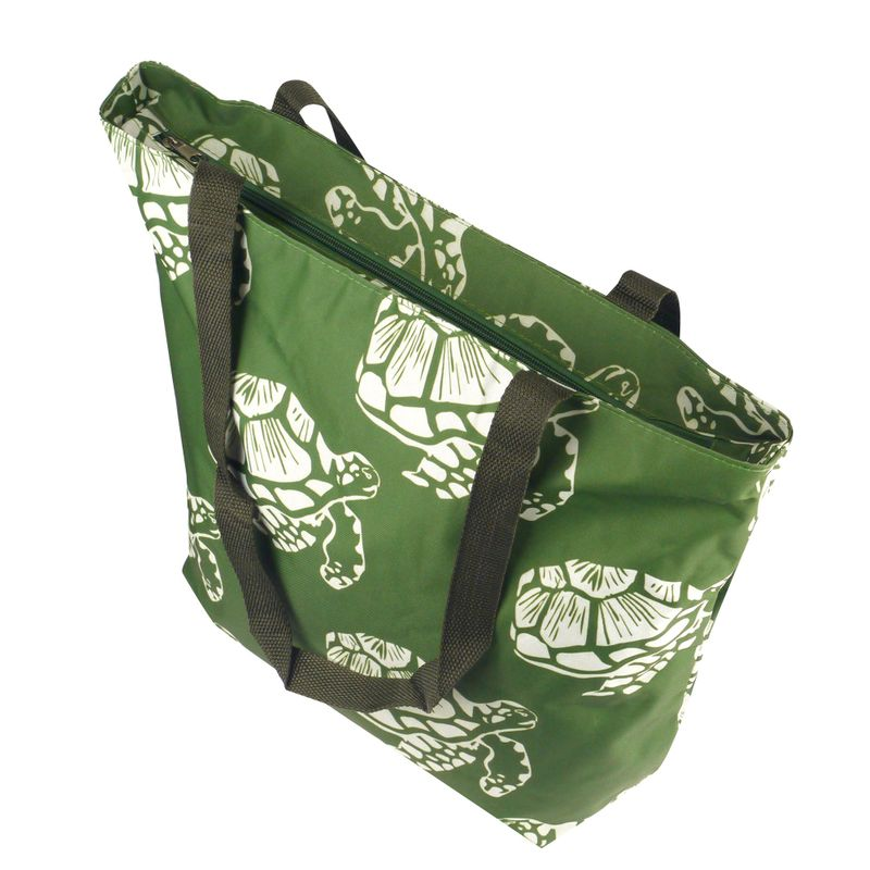 Lightweight-Large-All-Purpose-Shopping-Travel-Zippered-Top-Closure-Tote-Bag miniatuur 11