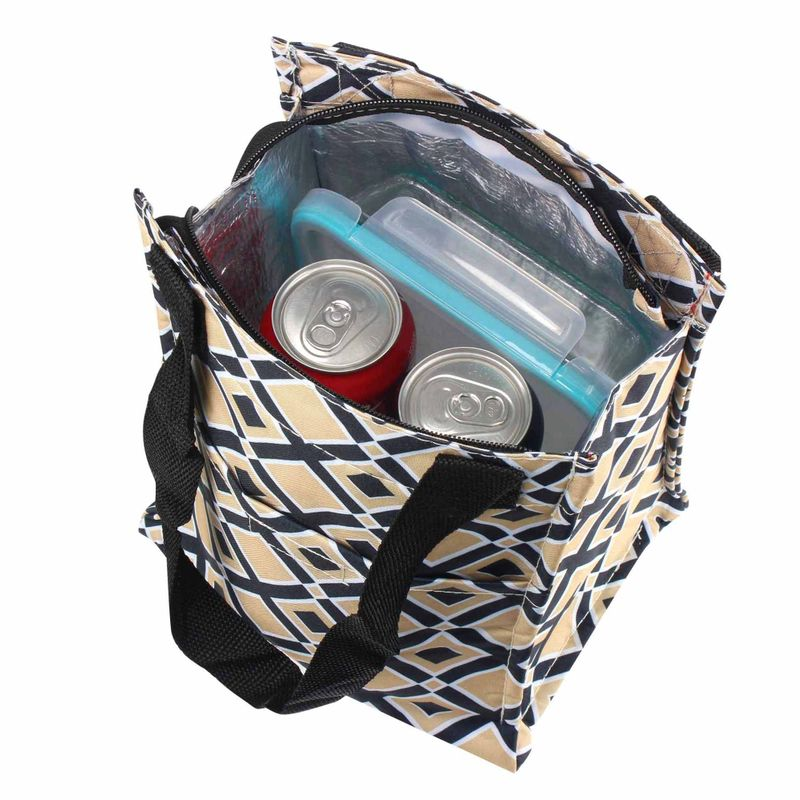 Insulated-Lunch-Cooler-Picnic-Trave-Work-Bag-Tote-Carry-Bag-for-Camping-Hiking miniatuur 4