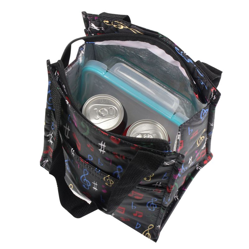 Insulated-Lunch-Cooler-Picnic-Trave-Work-Bag-Tote-Carry-Bag-for-Camping-Hiking miniatuur 7
