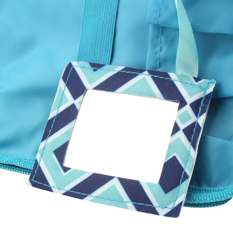 Compact-Small-Cosmetic-Makeup-Tote-Carry-Travel-Bag-Toiletry-Organizer-w-Mirror miniatuur 4