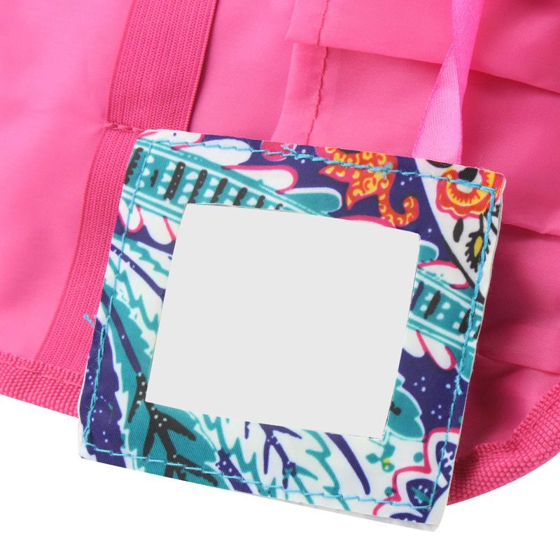 Compact-Small-Cosmetic-Makeup-Tote-Carry-Travel-Bag-Toiletry-Organizer-w-Mirror miniatuur 7