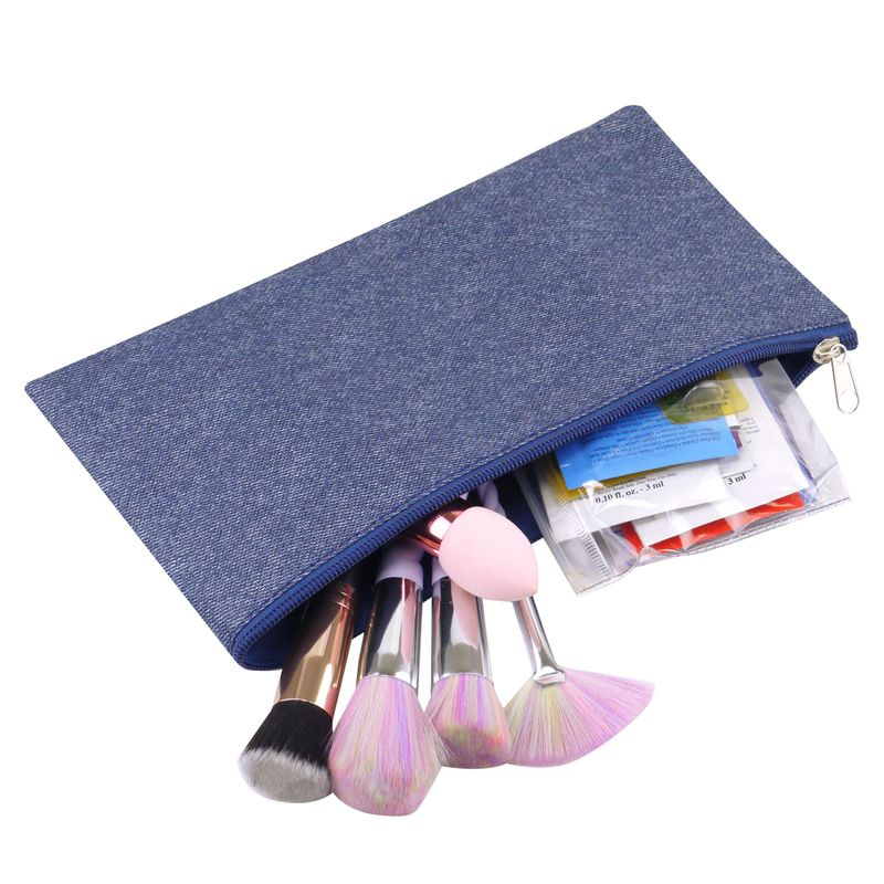 Small-Pencil-Case-Makeup-Cosmetic-Storage-Pouch-Bag-for-Travel-Camping-Hiking miniatuur 3