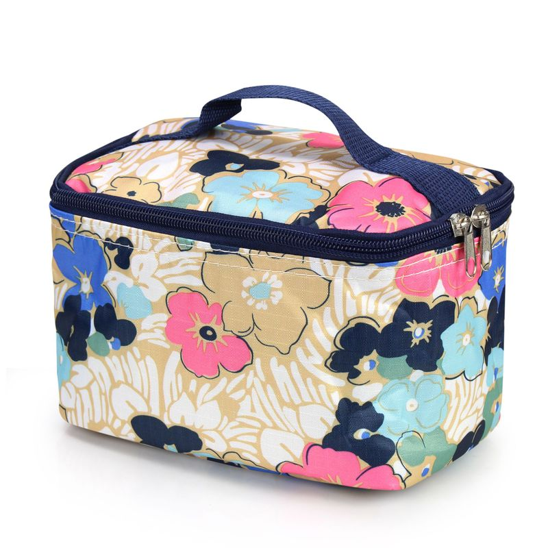 Women-Travel-Cosmetic-Makeup-Bag-Case-Pouch-Toiletry-Zip-Wash-Organizer-Storage thumbnail 6