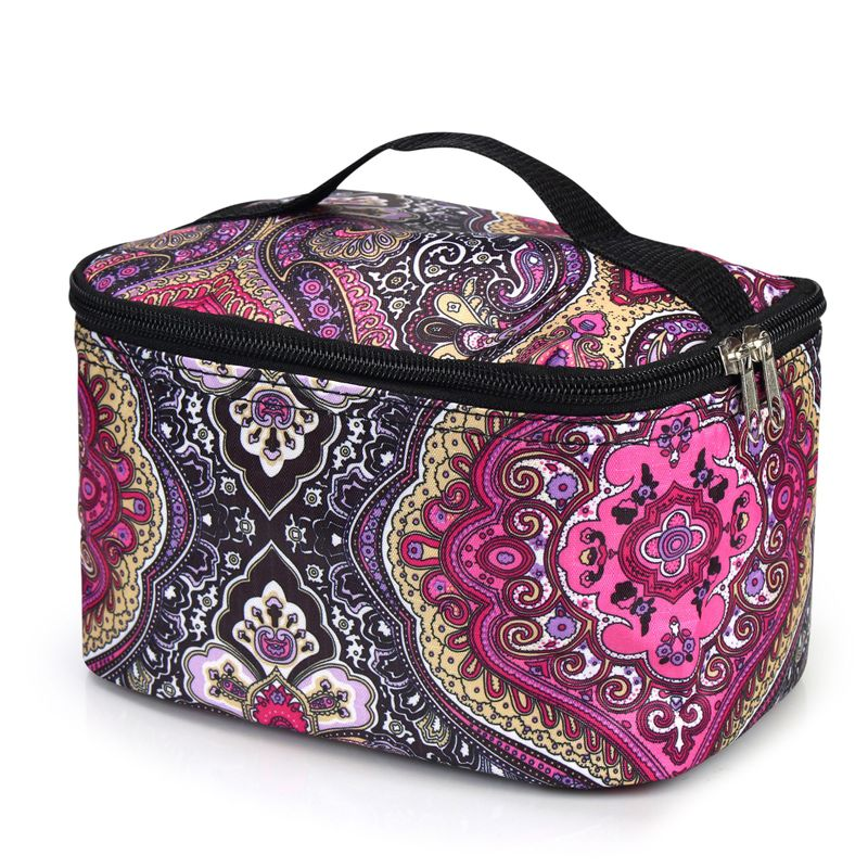 Women-Travel-Cosmetic-Makeup-Bag-Case-Pouch-Toiletry-Zip-Wash-Organizer-Storage thumbnail 12
