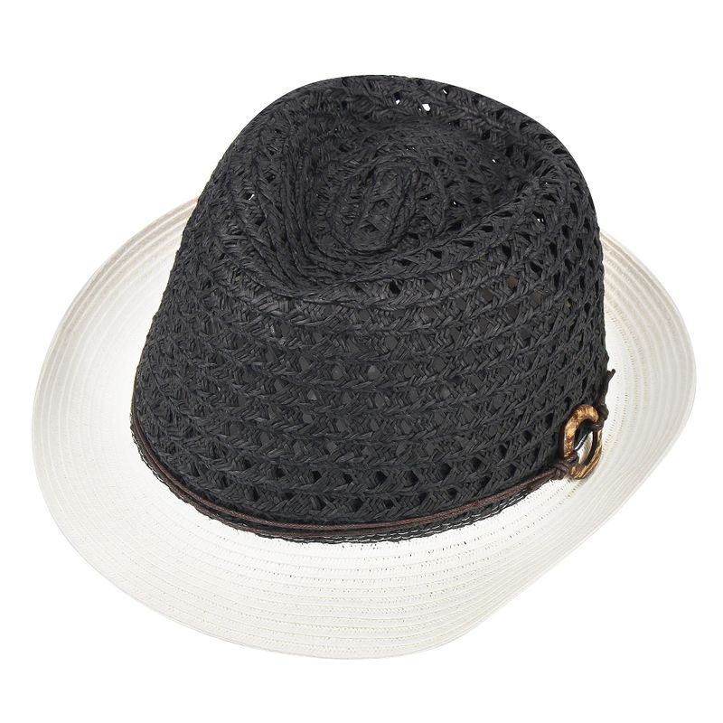 31df7bdc1e9 Sun Styles Foldable Crushable Summer Ladies Trilby Fedora