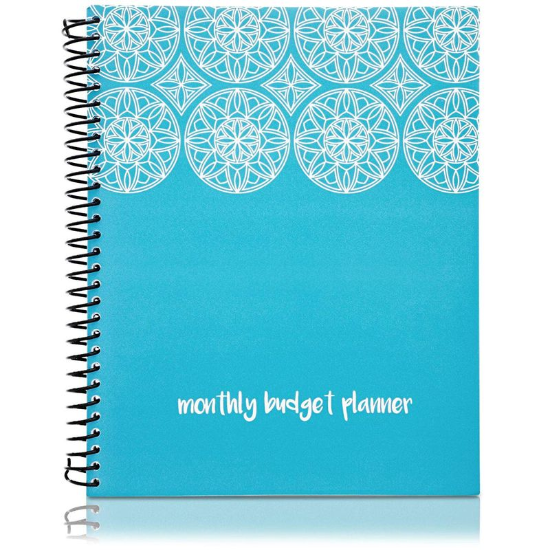 Monthly Budget Planner Organizer with 24 Pockets for Receipt