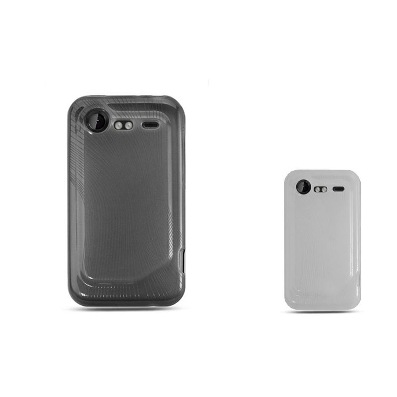 premium selection 6d522 4c403 Details about TPU Rubber Candy Skin Case Cover For HTC Droid Incredible 2  6350